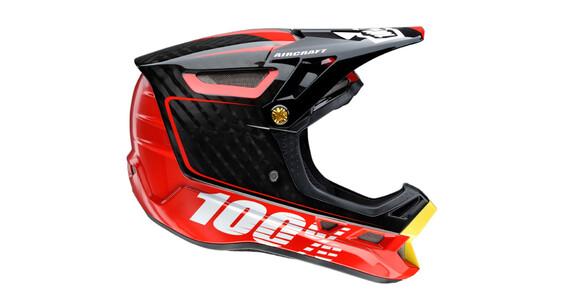 100% Aircraft Helmet bi-turbo red